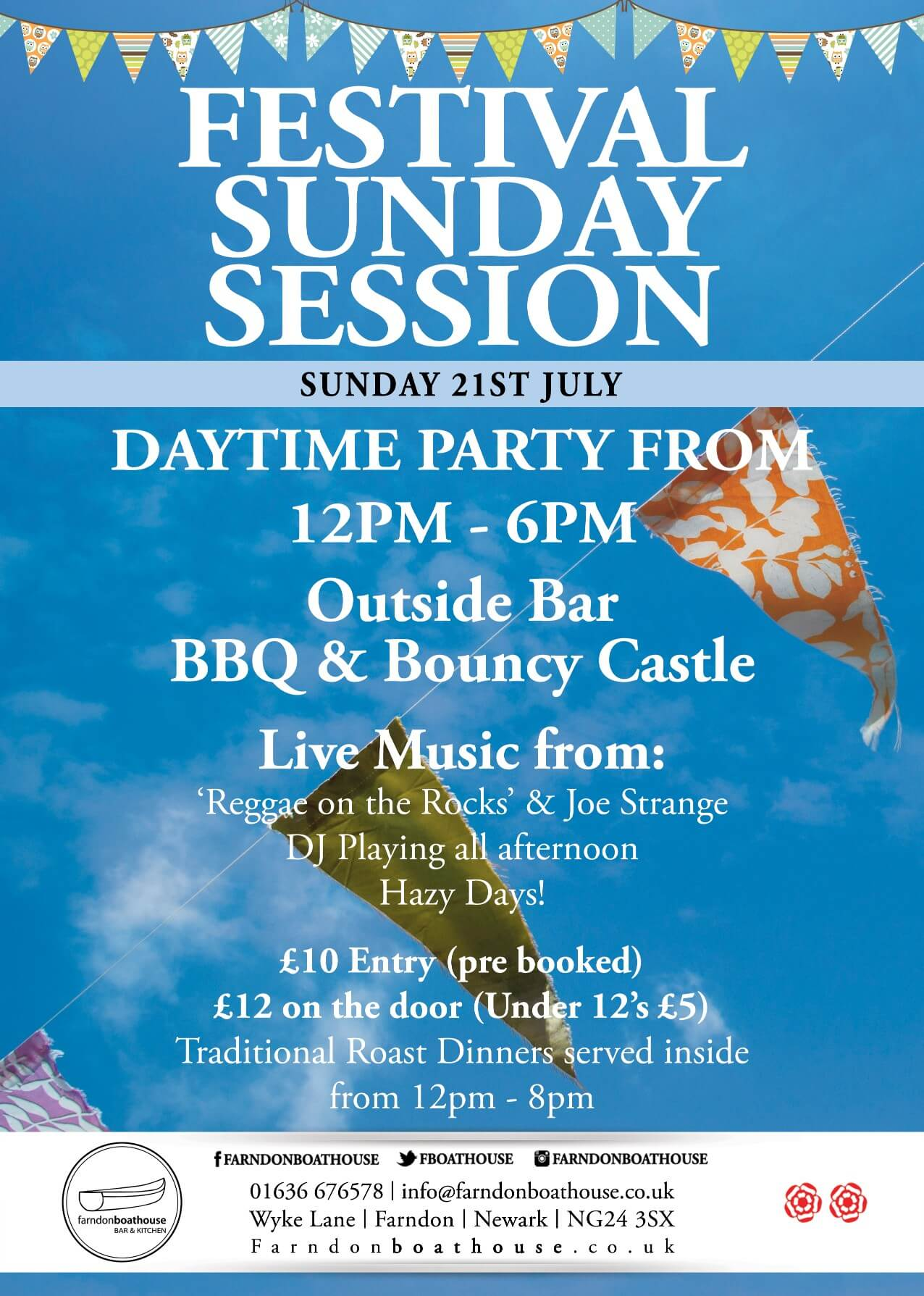 Festival Sunday Session