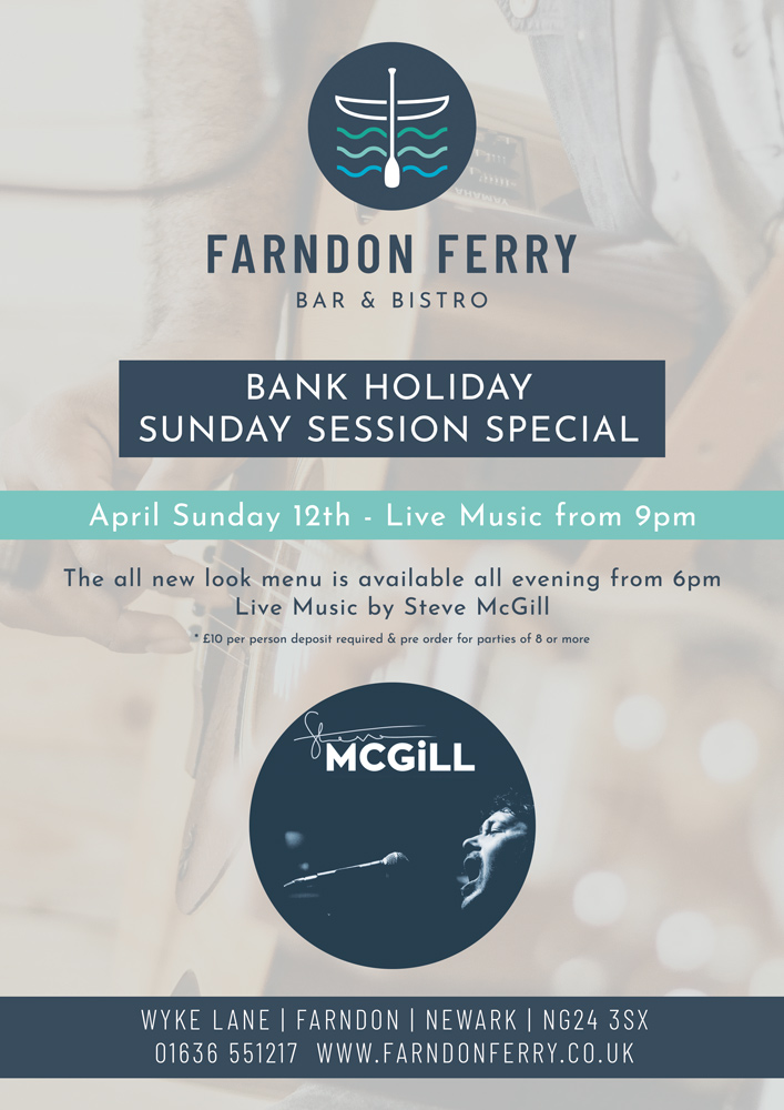 Bank Holiday Sunday Session April 12th